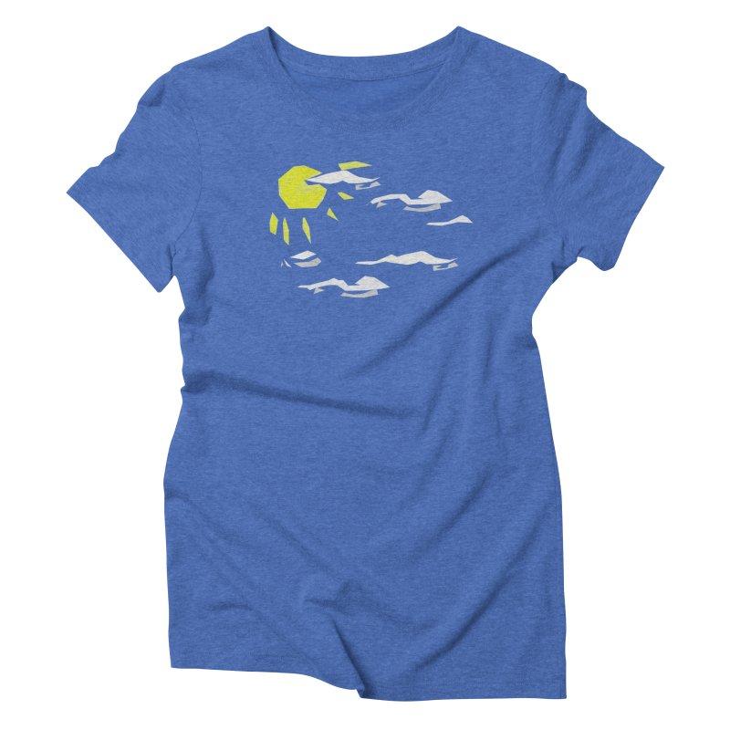 Sunny Daze Women's Triblend T-Shirt by stonestreet's Artist Shop