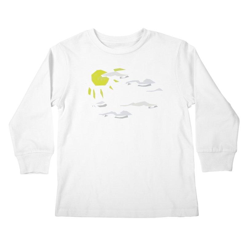 Sunny Daze Kids Longsleeve T-Shirt by stonestreet's Artist Shop