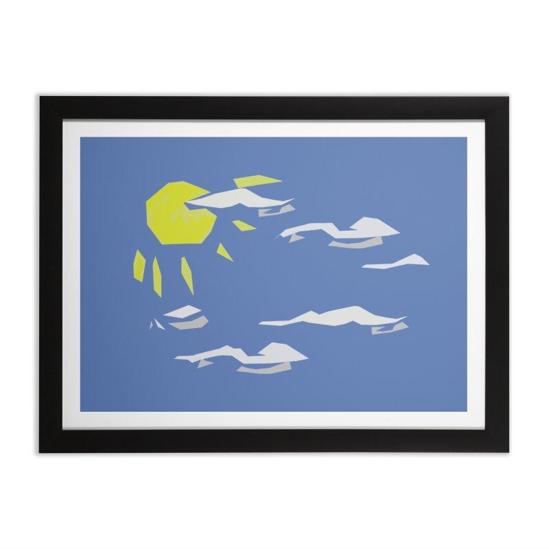 Sunny Daze Home Framed Fine Art Print by stonestreet's Artist Shop