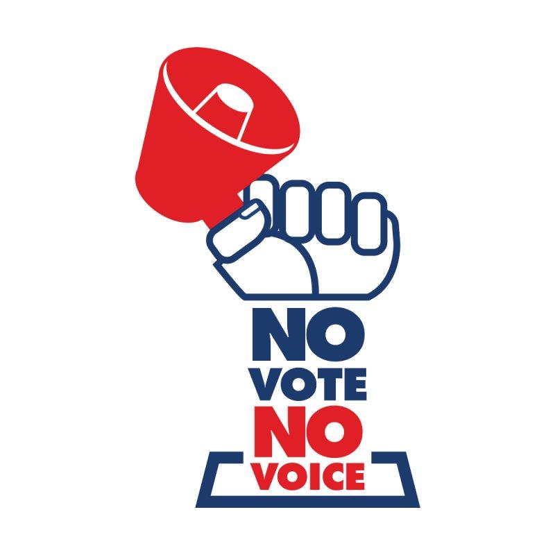 NO VOTE NO VOICE Men's T-Shirt by NO VOTE NO VOICE