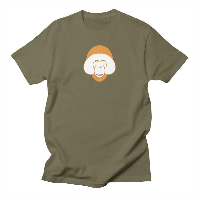 Orangutan Logo Men's Regular T-Shirt by Stop Palm Oil!