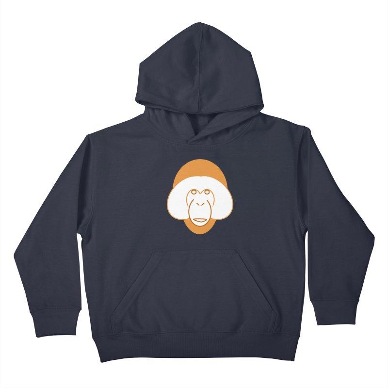 Orangutan Logo Kids Pullover Hoody by Stop Palm Oil!