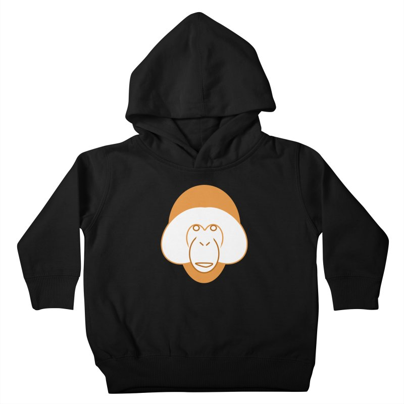 Orangutan Logo Kids Toddler Pullover Hoody by Stop Palm Oil!