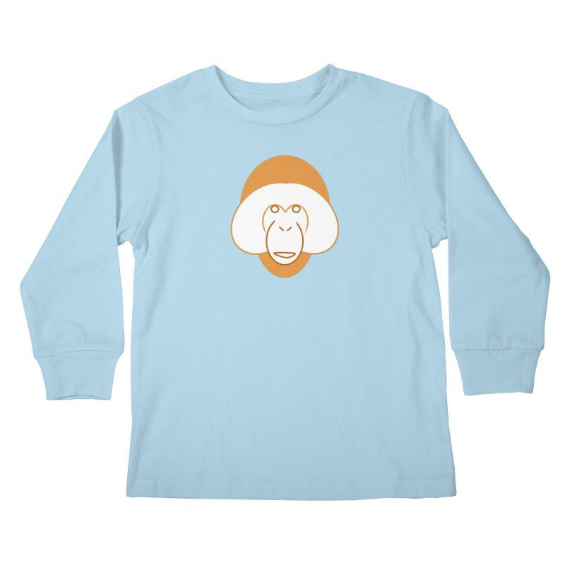 Orangutan Logo Kids Longsleeve T-Shirt by Stop Palm Oil!