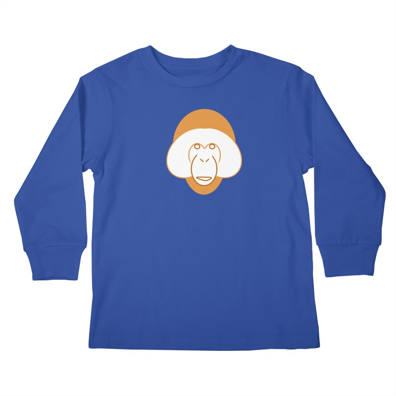 Orangutan Logo Kids Longsleeve T-Shirt by Stop Palm Oil!