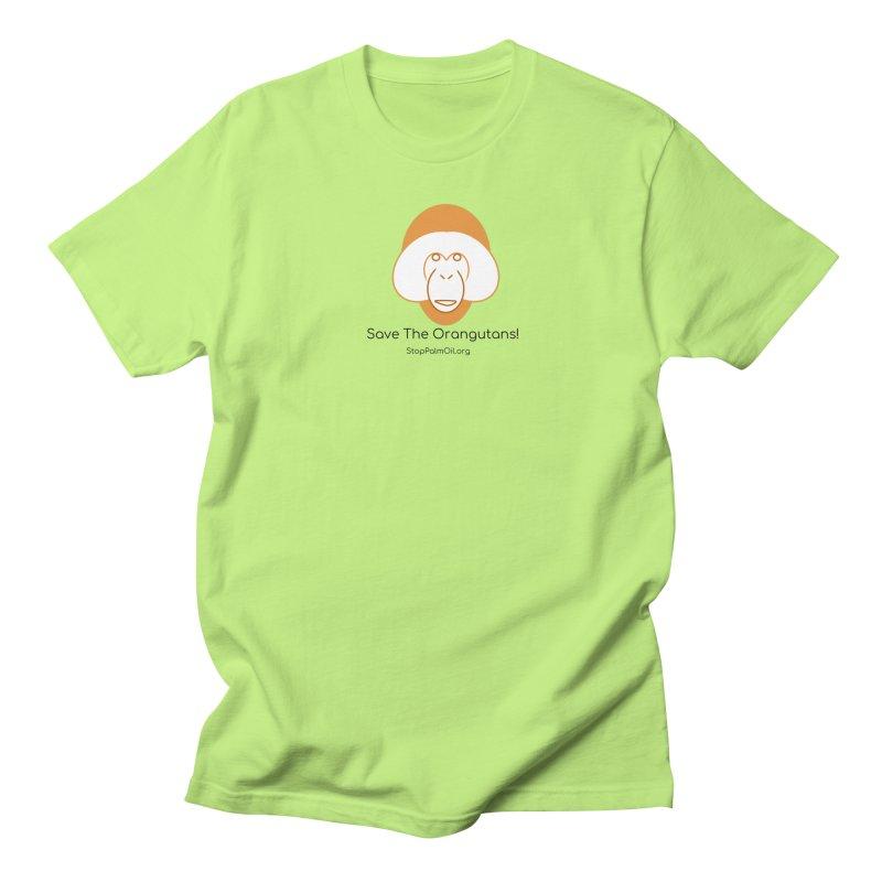 Orangutan shirt Men's Regular T-Shirt by Stop Palm Oil!