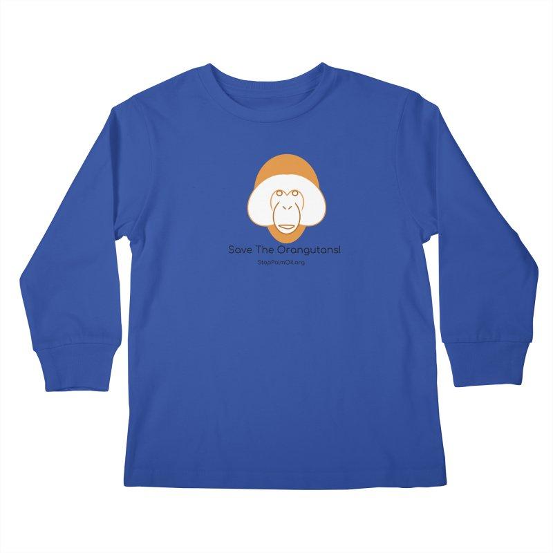 Orangutan shirt Kids Longsleeve T-Shirt by Stop Palm Oil!