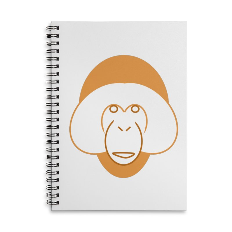 orangutan notebook Accessories Lined Spiral Notebook by Stop Palm Oil!