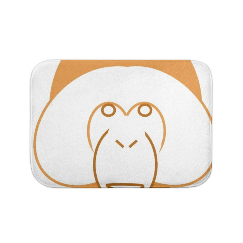 Orangutan Items Home Bath Mat by Stop Palm Oil!