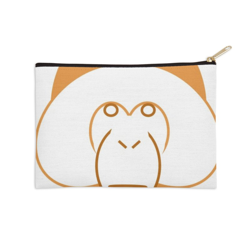 Orangutan Items Accessories Zip Pouch by Stop Palm Oil!