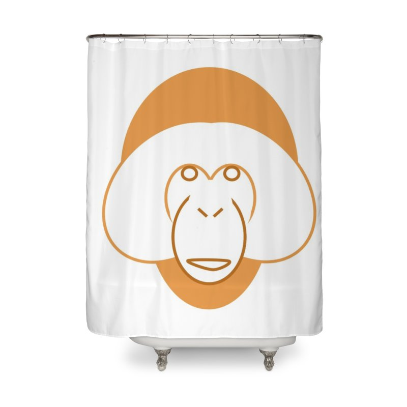 Orangutan Items Home Shower Curtain by Stop Palm Oil!