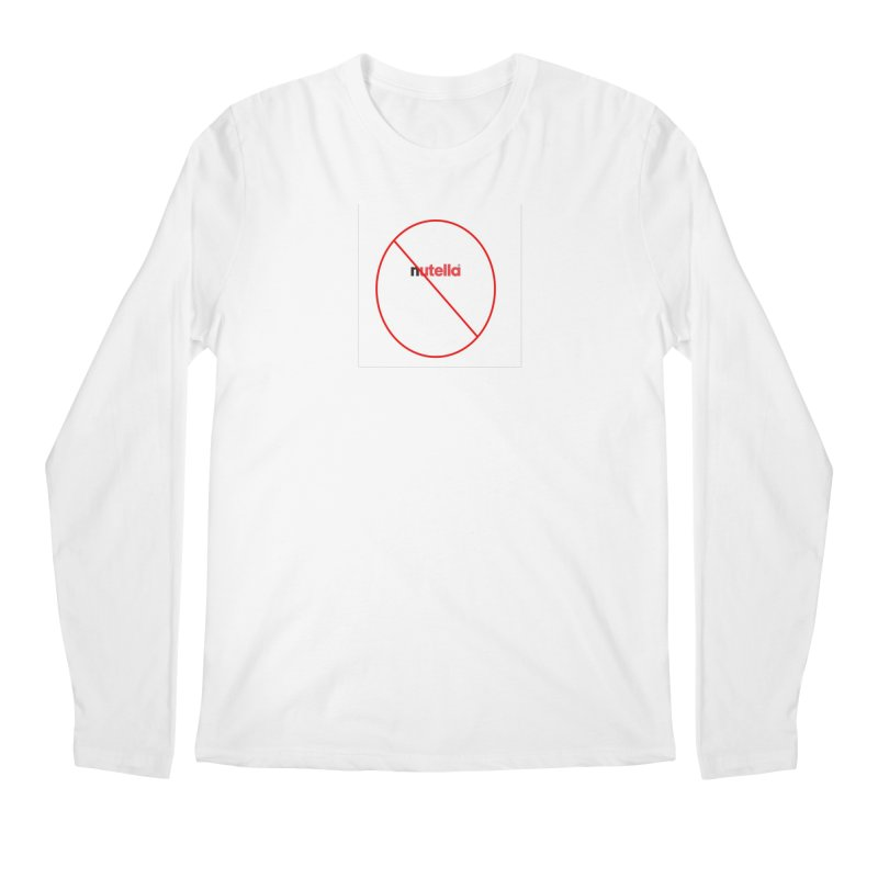 Anti-Nutella Logo Men's Regular Longsleeve T-Shirt by Stop Palm Oil!