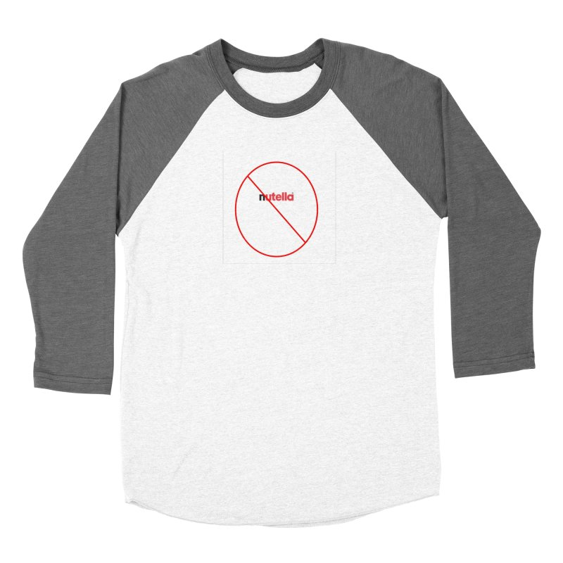 Anti-Nutella Logo Women's Baseball Triblend Longsleeve T-Shirt by Stop Palm Oil!