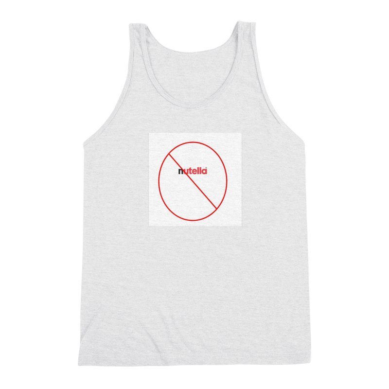 Anti-Nutella Logo Men's Triblend Tank by Stop Palm Oil!