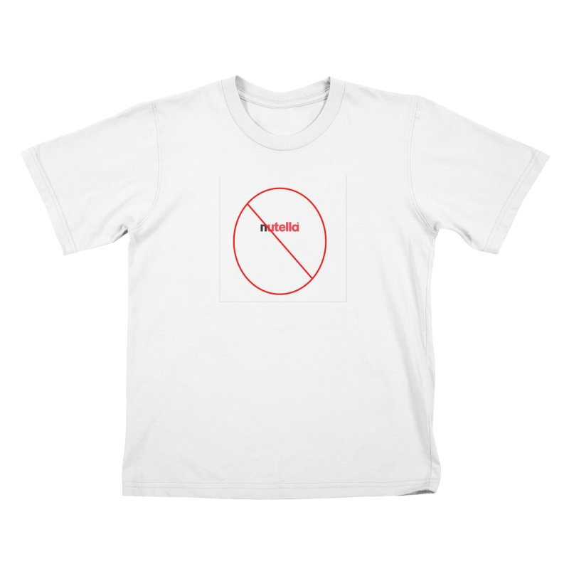 Anti-Nutella Logo Kids T-Shirt by Stop Palm Oil!