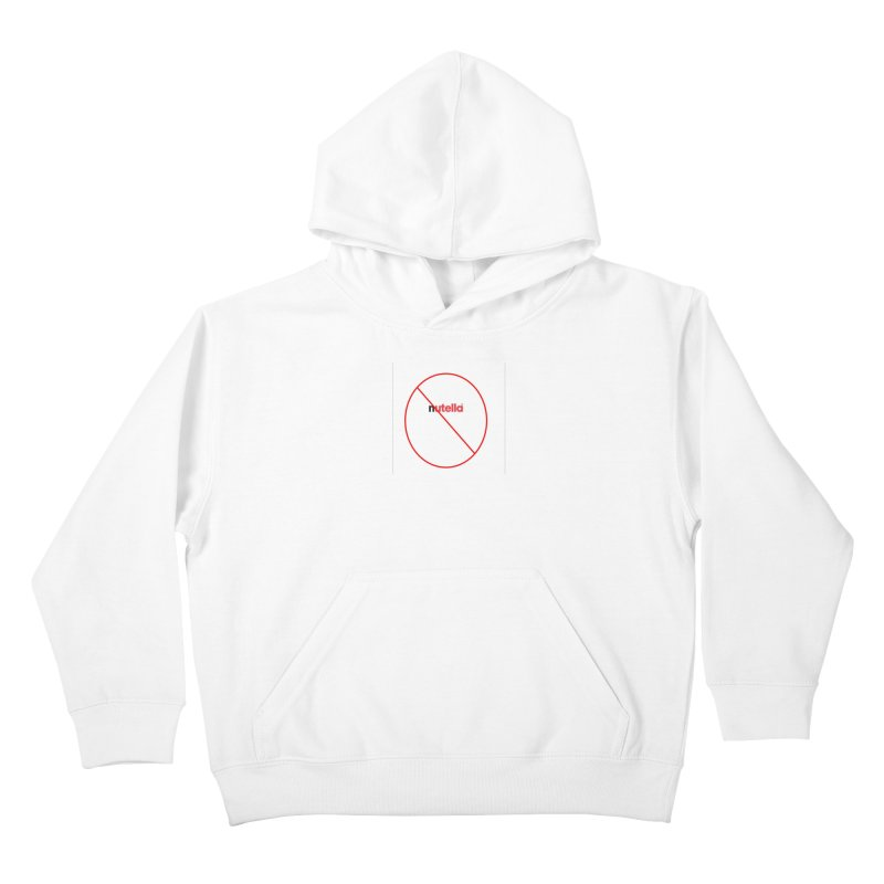 Anti-Nutella Logo Kids Pullover Hoody by Stop Palm Oil!