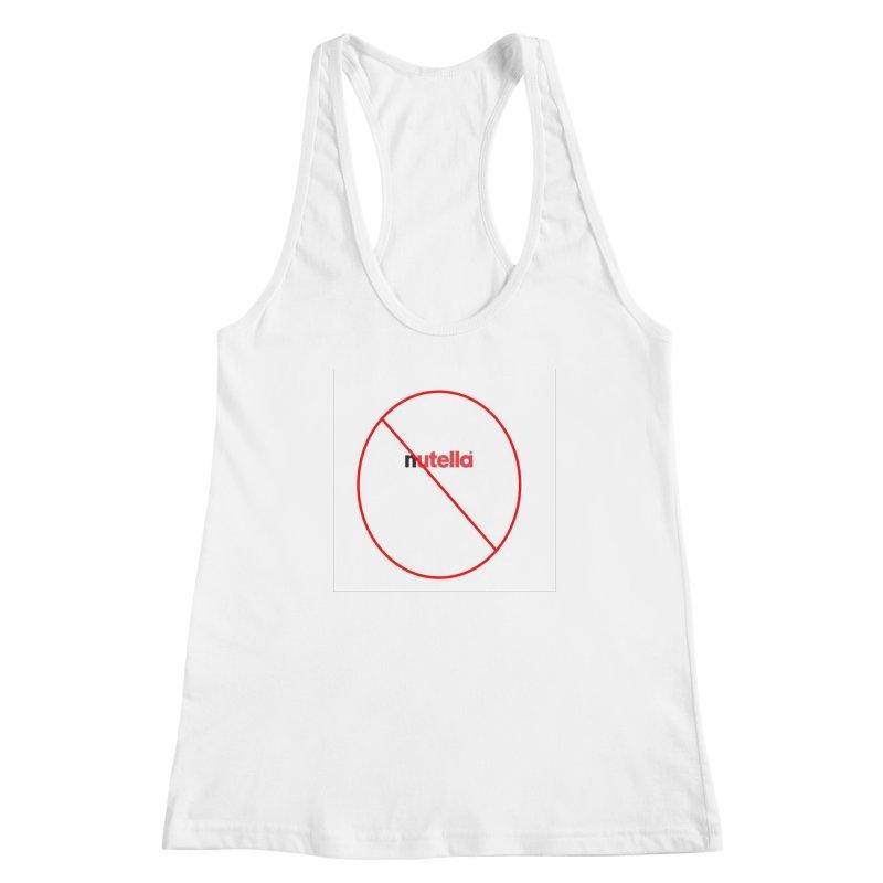 Anti-Nutella Logo Women's Racerback Tank by Stop Palm Oil!