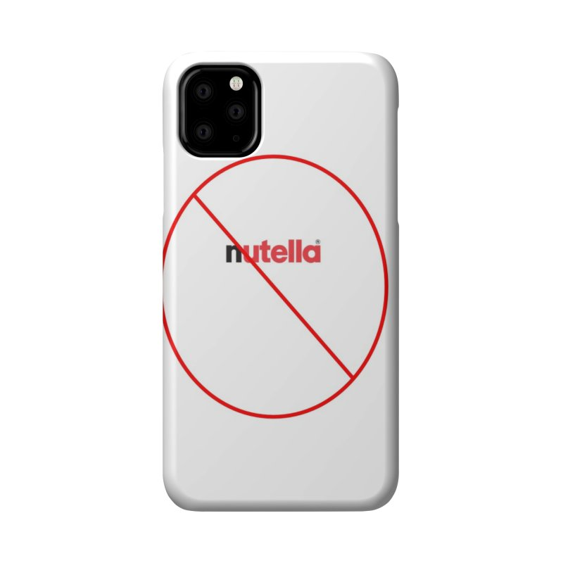 Anti-Nutella Logo Accessories Phone Case by Stop Palm Oil!