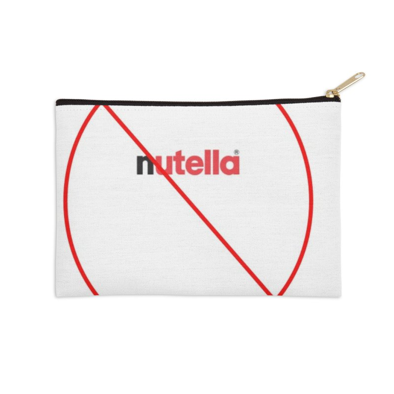 Anti-Nutella Logo Accessories Zip Pouch by Stop Palm Oil!