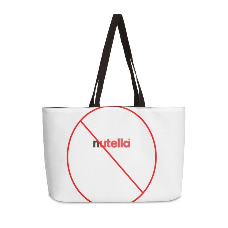 Anti Nutella Accessories Weekender Bag Bag by Stop Palm Oil!