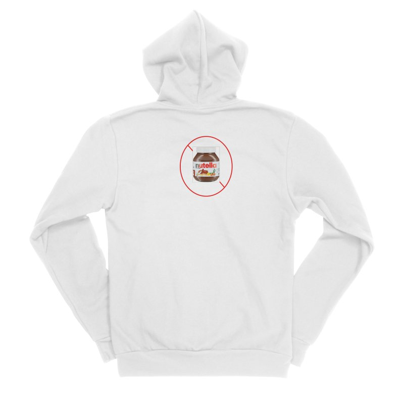 Anti Nutella 2 Women's Sponge Fleece Zip-Up Hoody by Stop Palm Oil!