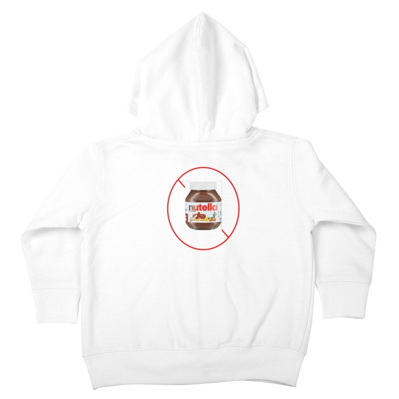 Anti Nutella 2 Kids Toddler Zip-Up Hoody by Stop Palm Oil!