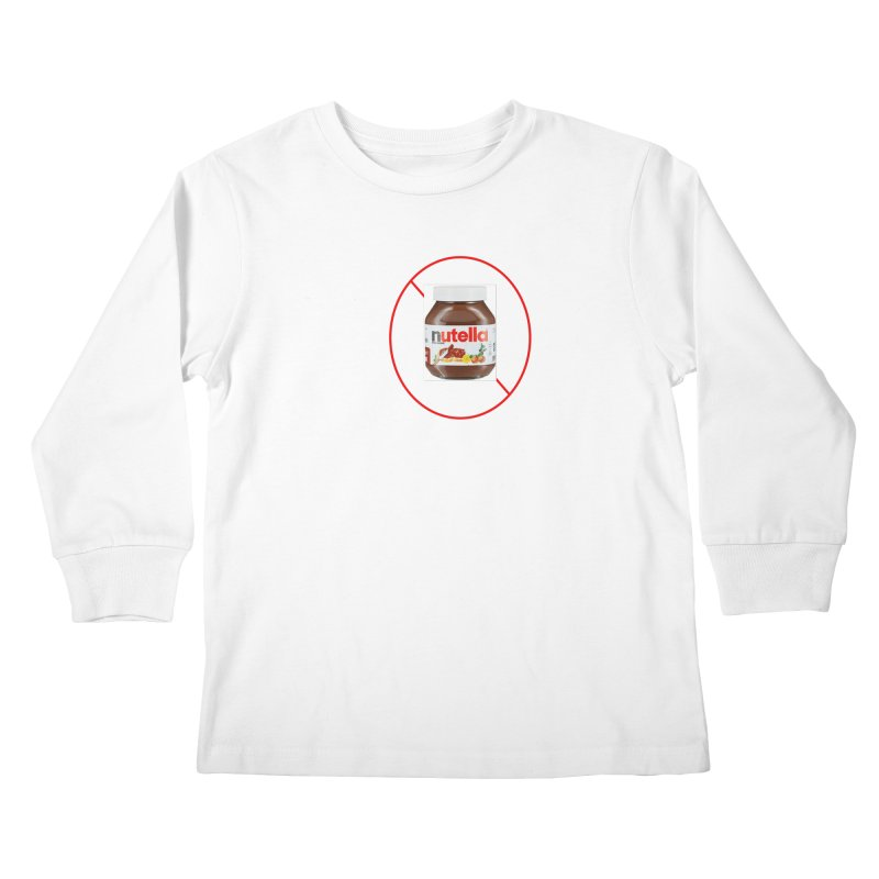 Anti Nutella 2 Kids Longsleeve T-Shirt by Stop Palm Oil!