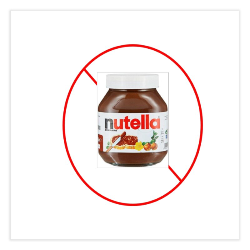 Anti Nutella 2 Home Fine Art Print by Stop Palm Oil!