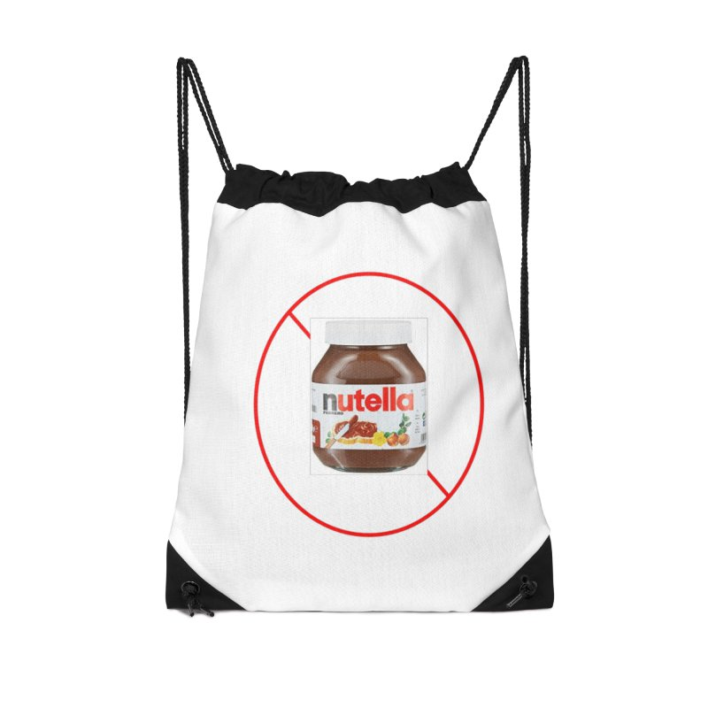 Anti Nutella 2 Accessories Drawstring Bag Bag by Stop Palm Oil!