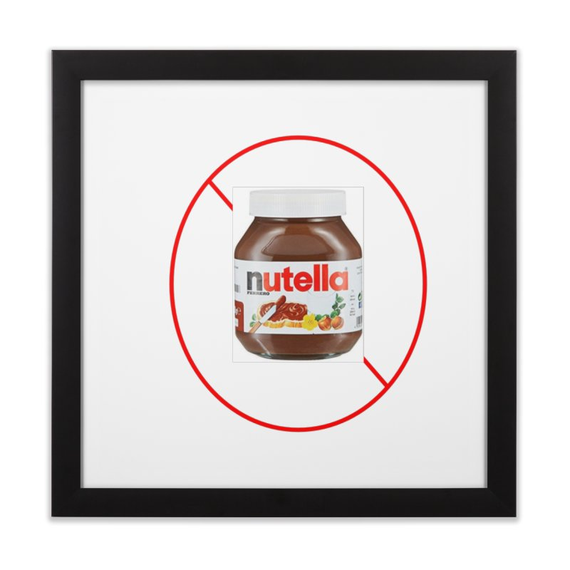 Anti Nutella 2 Home Framed Fine Art Print by Stop Palm Oil!