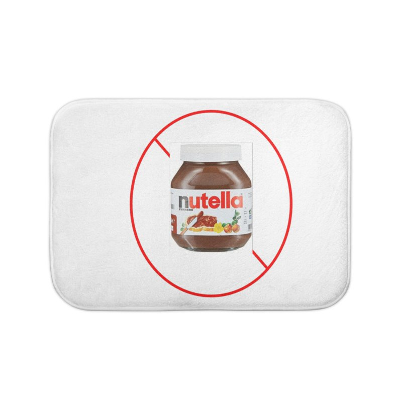 Anti Nutella 2 Home Bath Mat by Stop Palm Oil!