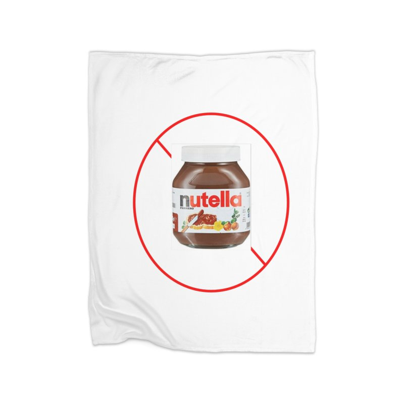 Anti Nutella 2 Home Fleece Blanket Blanket by Stop Palm Oil!
