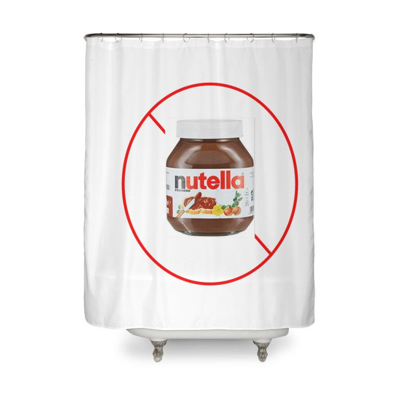 Anti Nutella 2 Home Shower Curtain by Stop Palm Oil!
