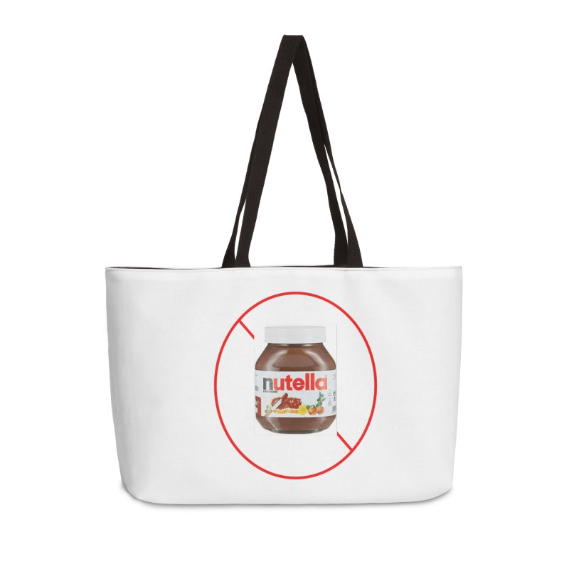 Anti Nutella 2 Accessories Weekender Bag Bag by Stop Palm Oil!