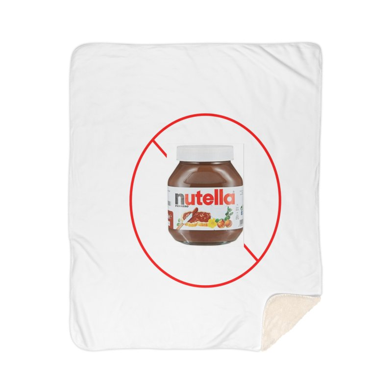 Anti Nutella 2 Home Sherpa Blanket Blanket by Stop Palm Oil!