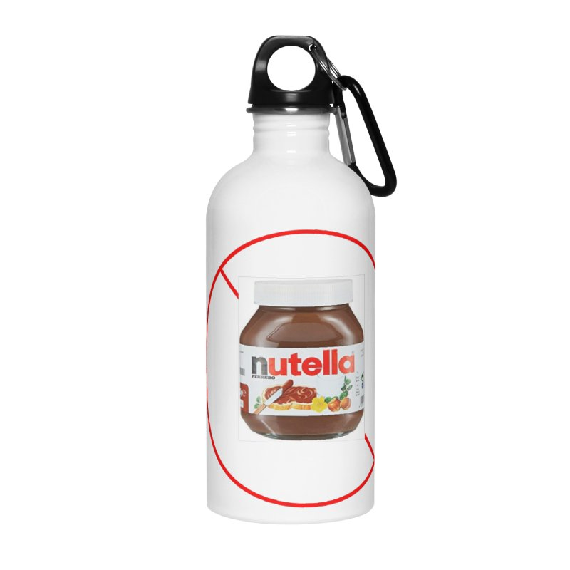 Anti Nutella 2 Accessories Water Bottle by Stop Palm Oil!