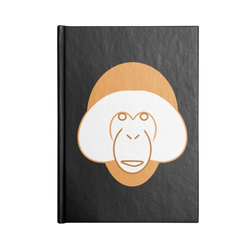 Orangutan #2 Accessories Blank Journal Notebook by Stop Palm Oil!