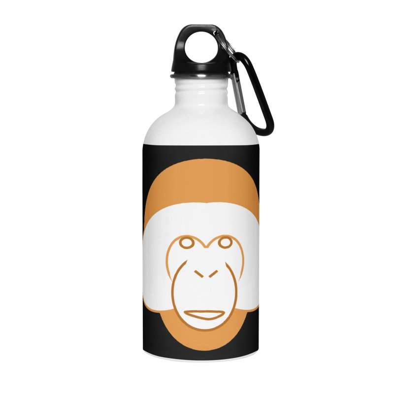 Orangutan #2 Accessories Water Bottle by Stop Palm Oil!