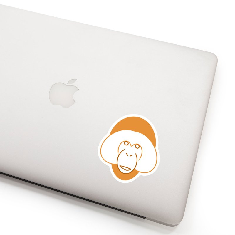 Orangutan #2 Accessories Sticker by Stop Palm Oil!