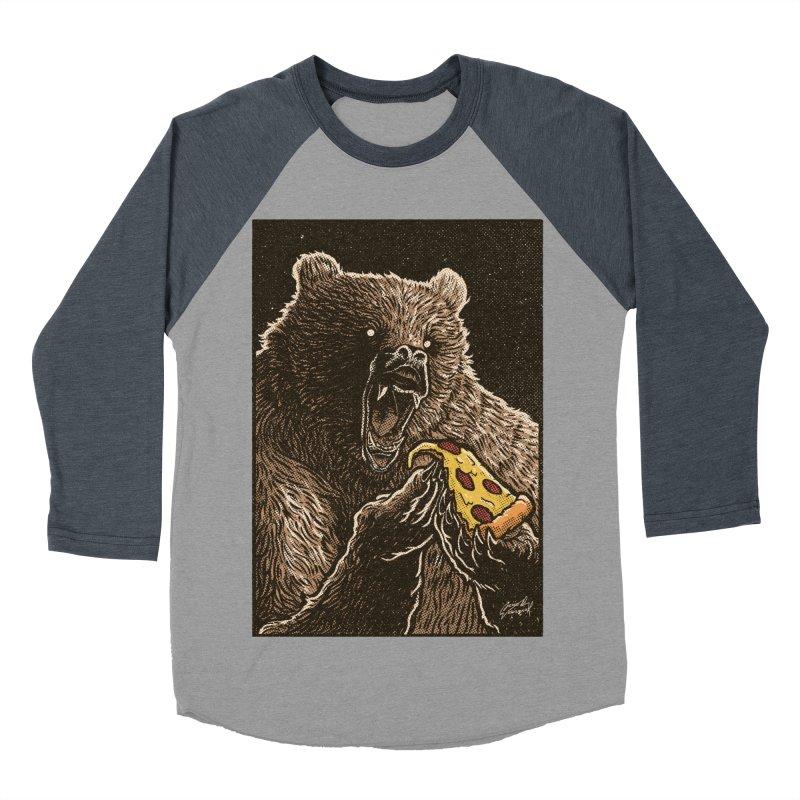 Hangry Women's Baseball Triblend Longsleeve T-Shirt by artofvelazuez