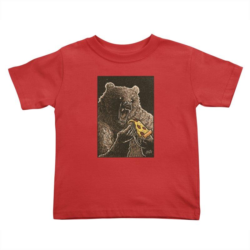 Hangry Kids Toddler T-Shirt by artofvelazuez