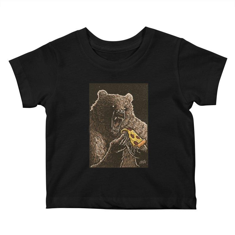 Hangry Kids Baby T-Shirt by artofvelazuez