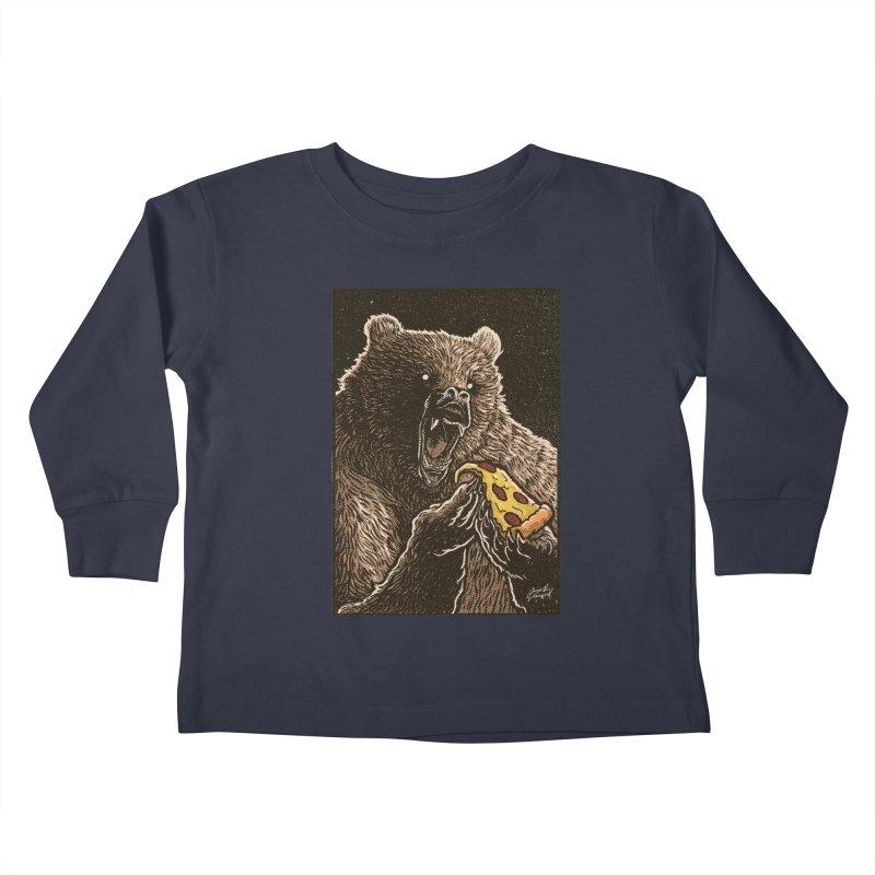 Hangry Kids Toddler Longsleeve T-Shirt by artofvelazuez