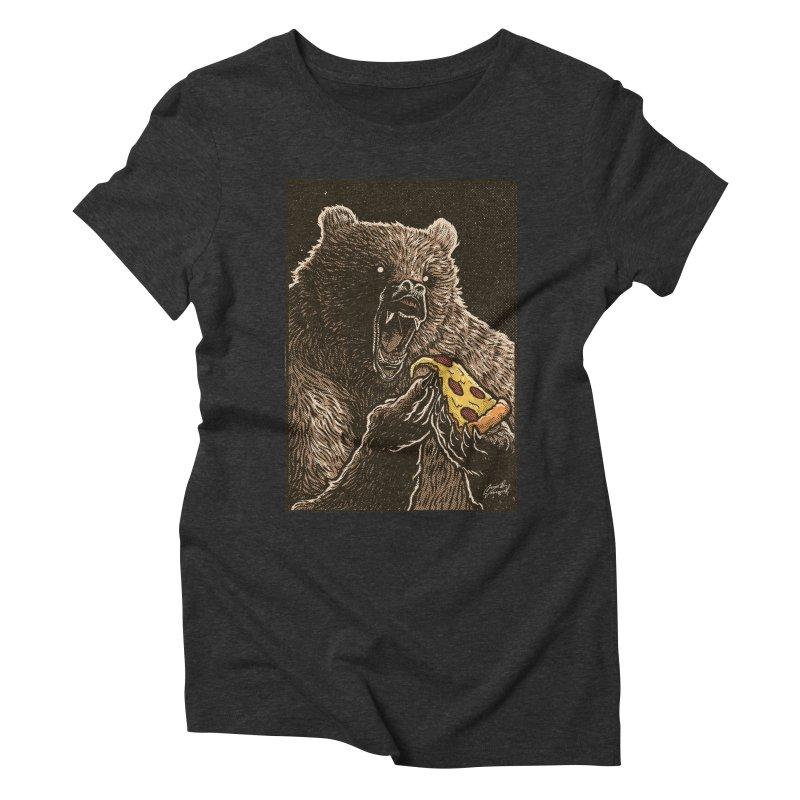 Hangry Women's Triblend T-Shirt by artofvelazuez