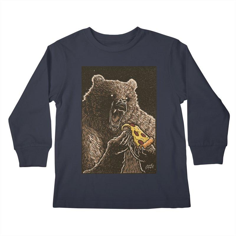 Hangry Kids Longsleeve T-Shirt by artofvelazuez