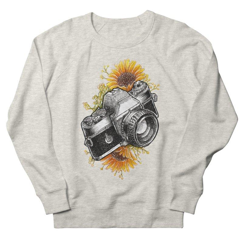 Shoot The Sunflowers Men's French Terry Sweatshirt by artofvelazuez