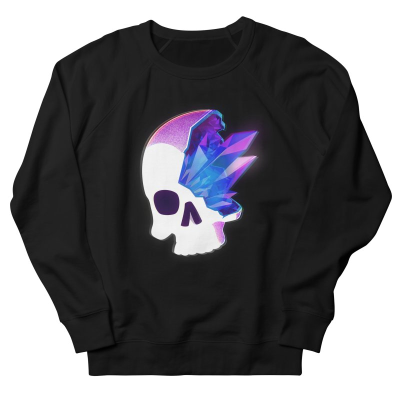 Crystal Skull Men's Sweatshirt by
