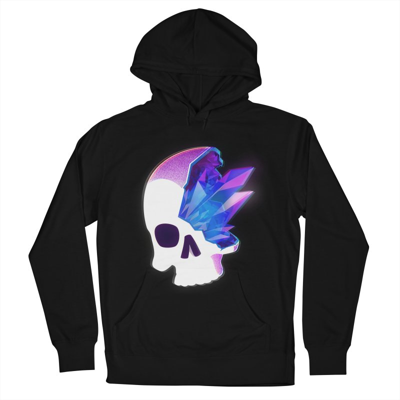 Crystal Skull Women's French Terry Pullover Hoody by