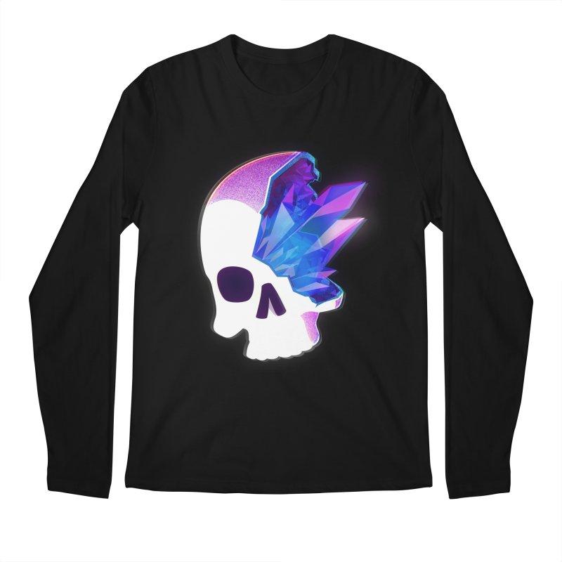 Crystal Skull Men's Longsleeve T-Shirt by