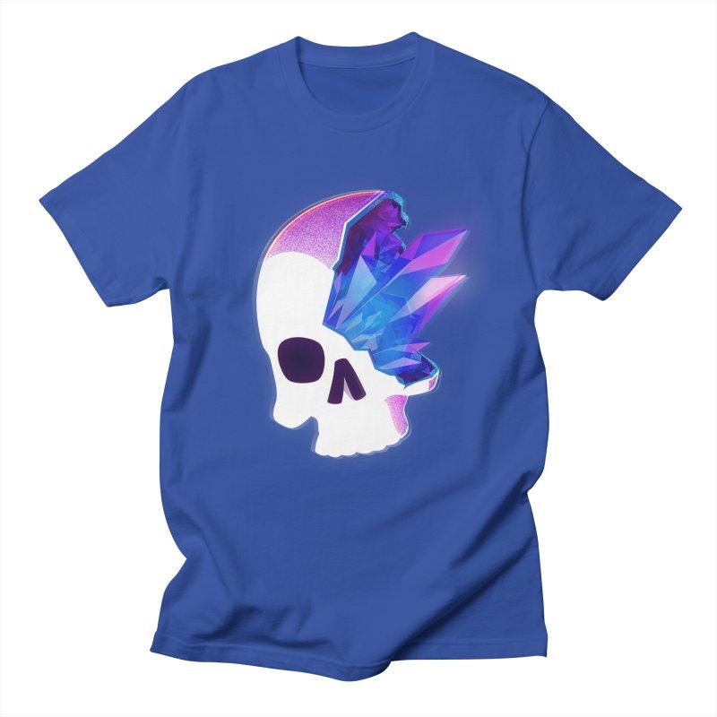 Crystal Skull Men's Regular T-Shirt by